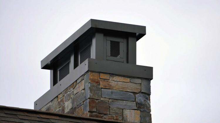 Acutech custom steel chimney cap