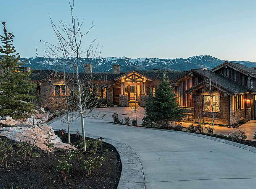This Allred-built Park City home is made with lumber from over 30 reclaimed structures.