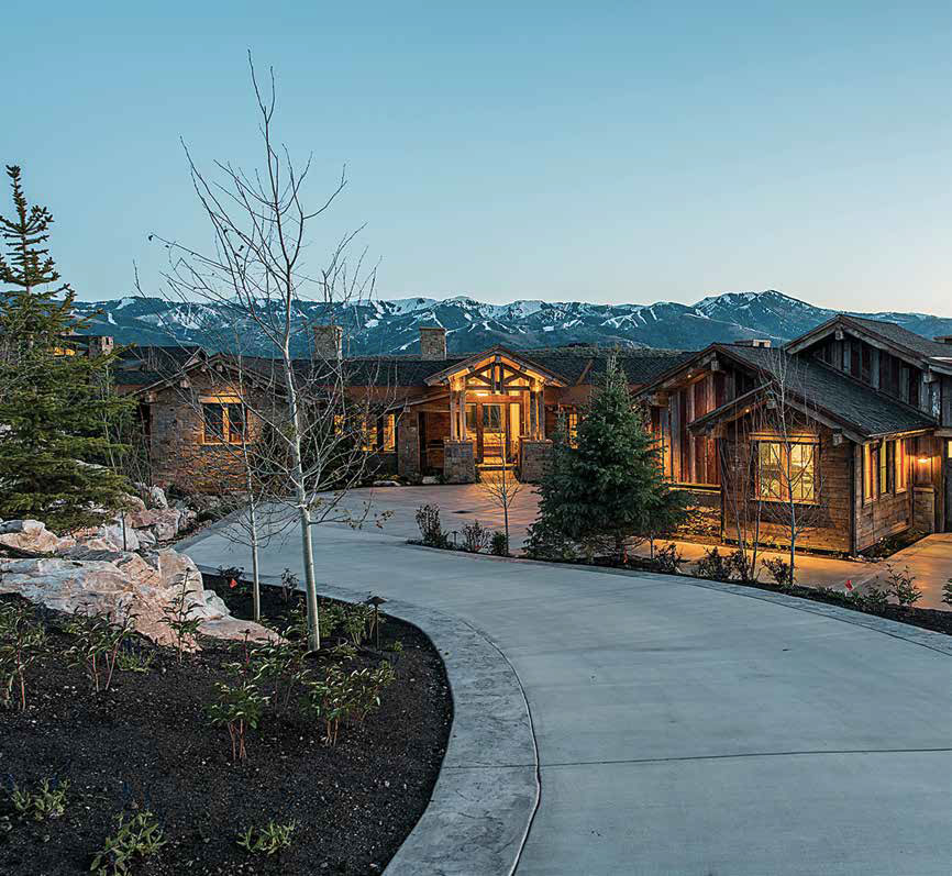 This Allred Built Park City Home Is Made With Lumber From Over 30 Reclaimed Structures