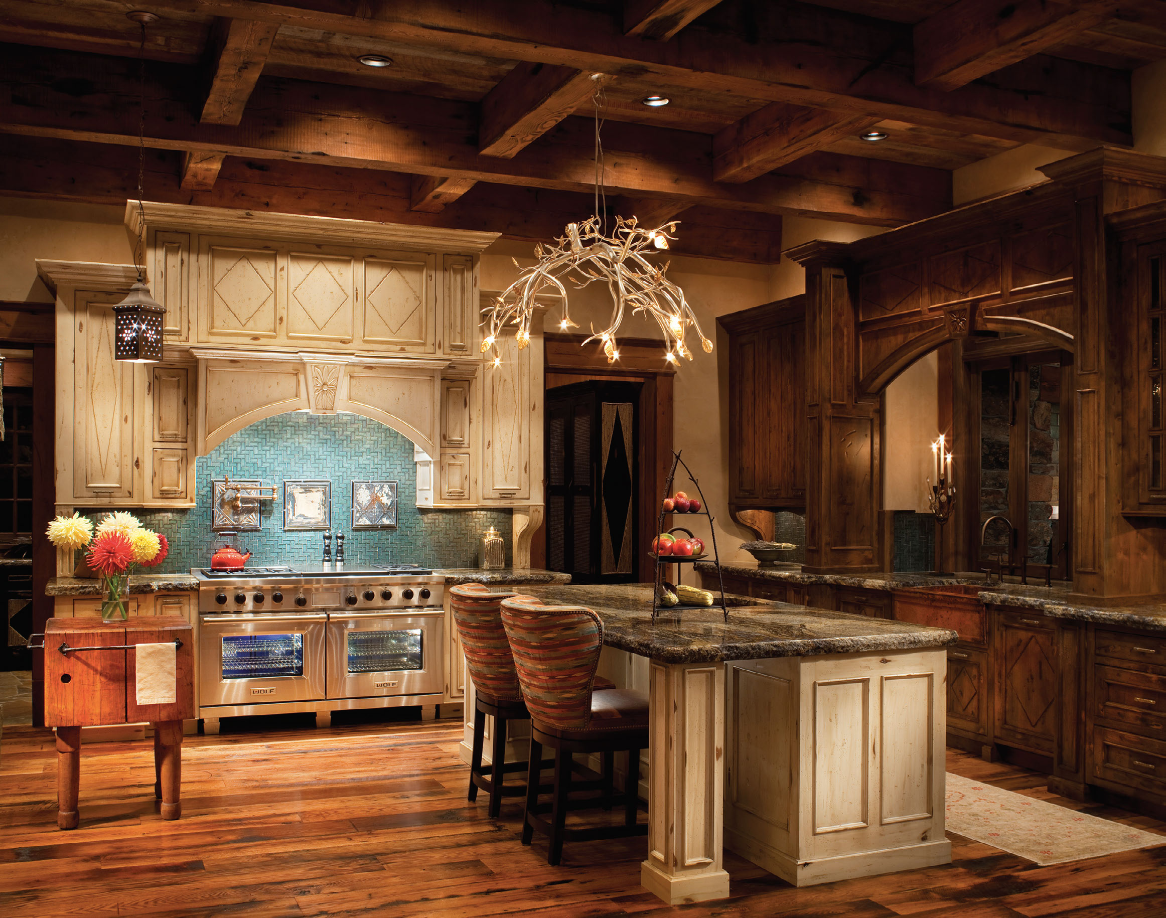The Kitchen Furniture Company Cabinet Couture Western Home Journal
