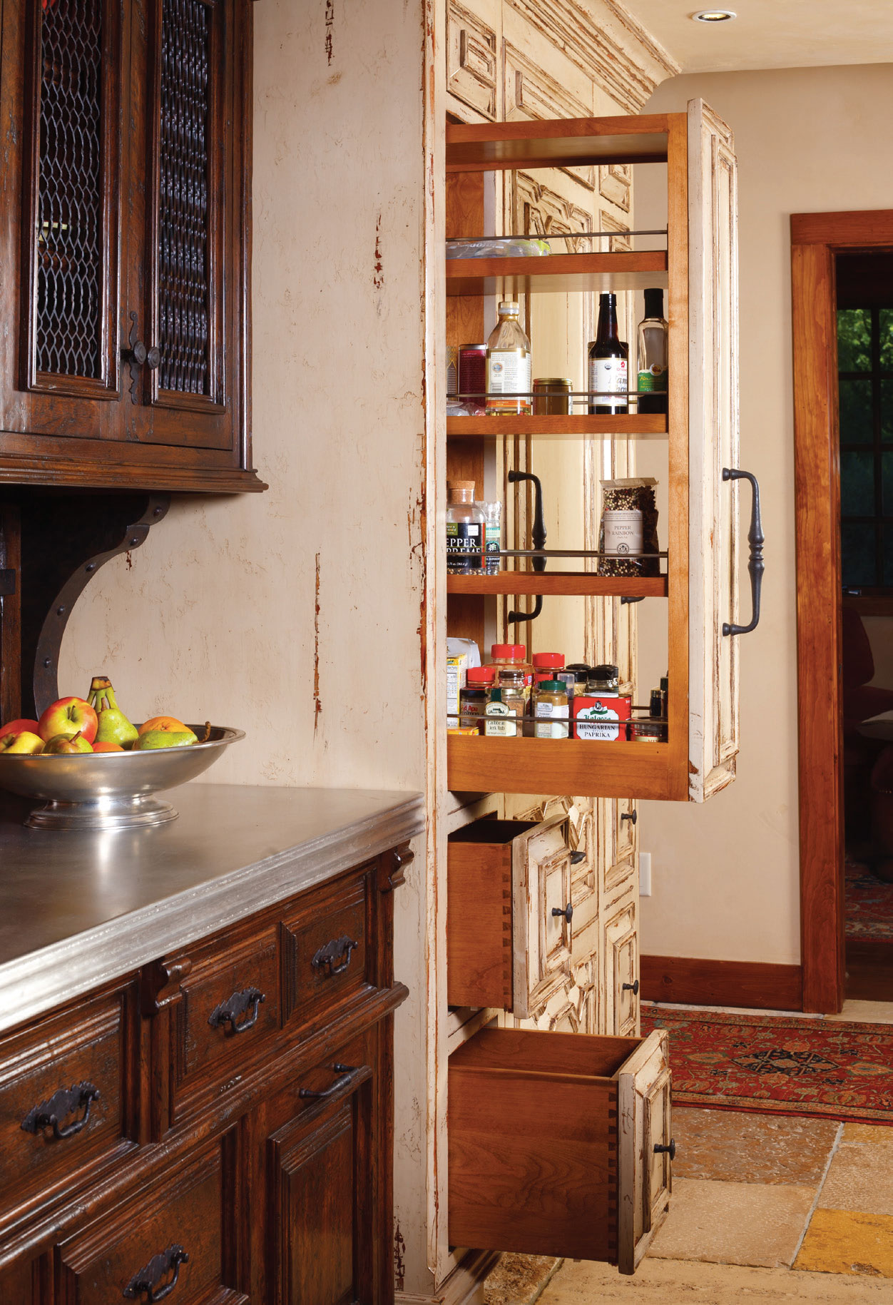 Cabinet couture western home journal luxury mountain Western kitchen cabinets