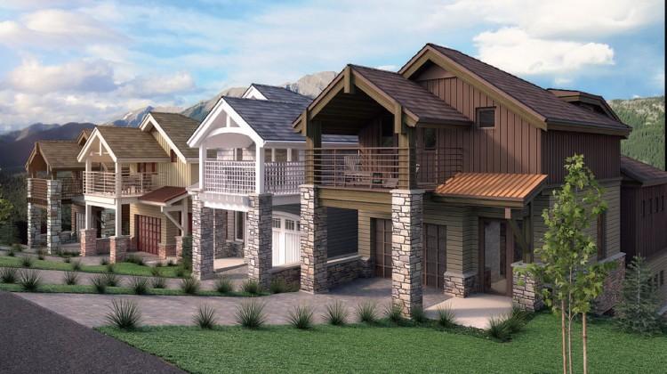 Stone resort homes