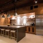 Industrial ranch kitchen