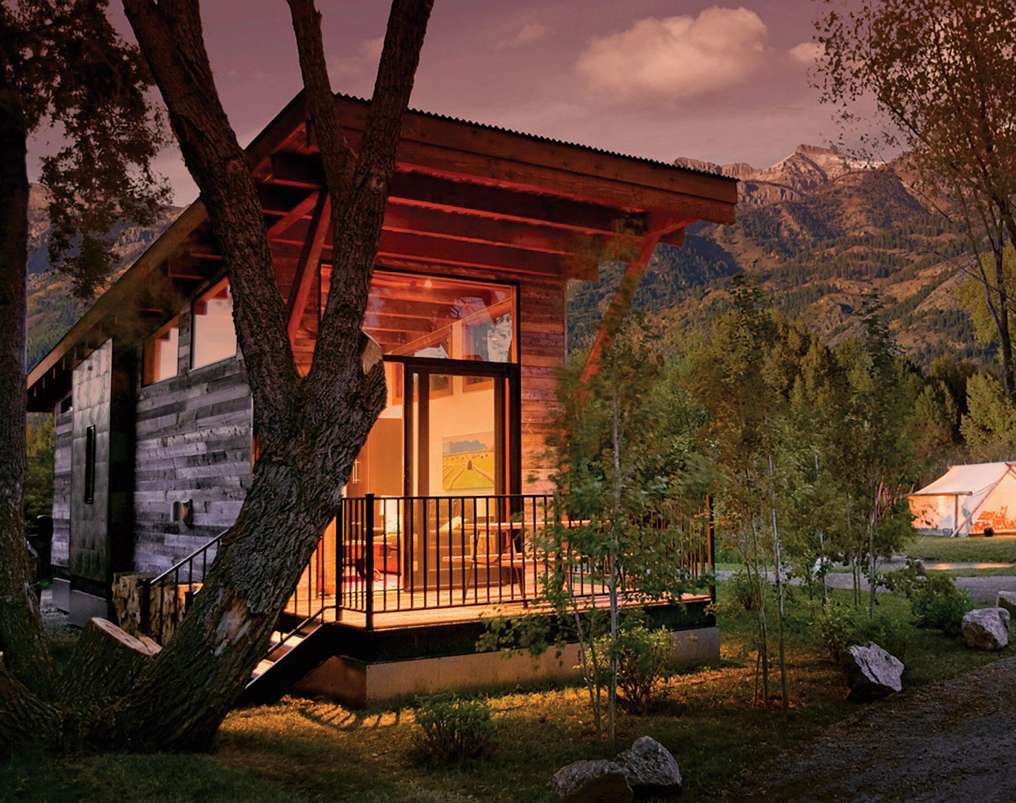 Wheelhaus Cabin