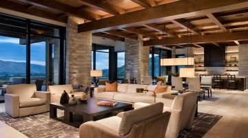 various levels of lighting living room cozy