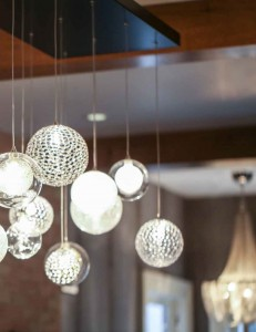 Over the past few years, lighting design has become more dynamic and the products available for quality lighting design have multiplied. These spheres offer a bit of stylish playfulness to any room. PHOTO Courtesy of Elume.