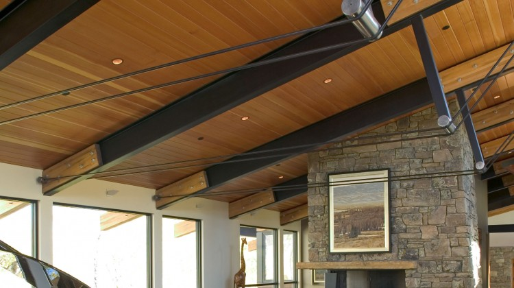 Steel Moves Into Homes Western Home Journal Luxury