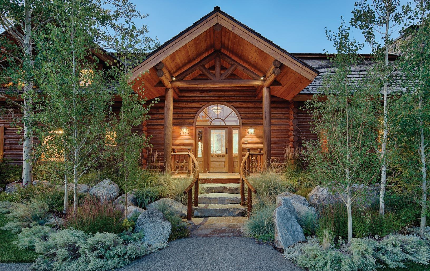 Relatively Speaking- Jackson Hole Porch