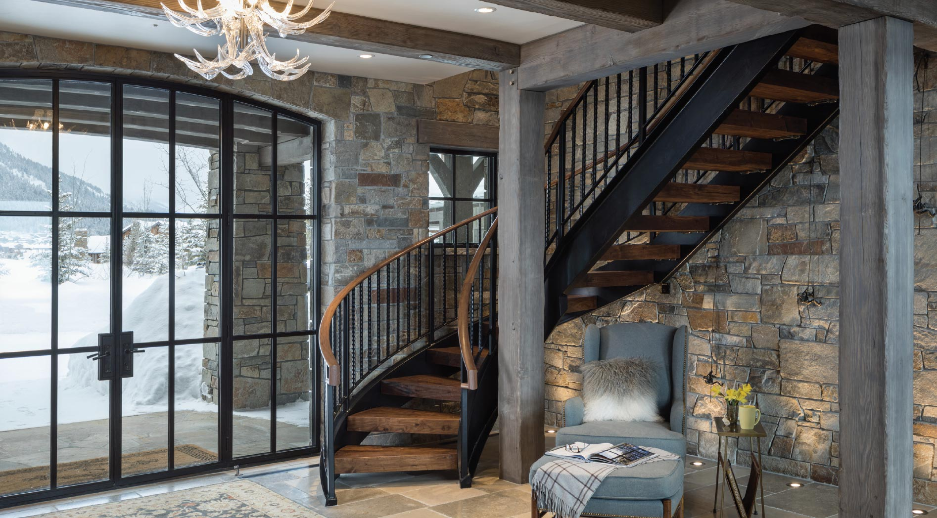 Virtual Reality and the Architect-Jackson Hole Stairs