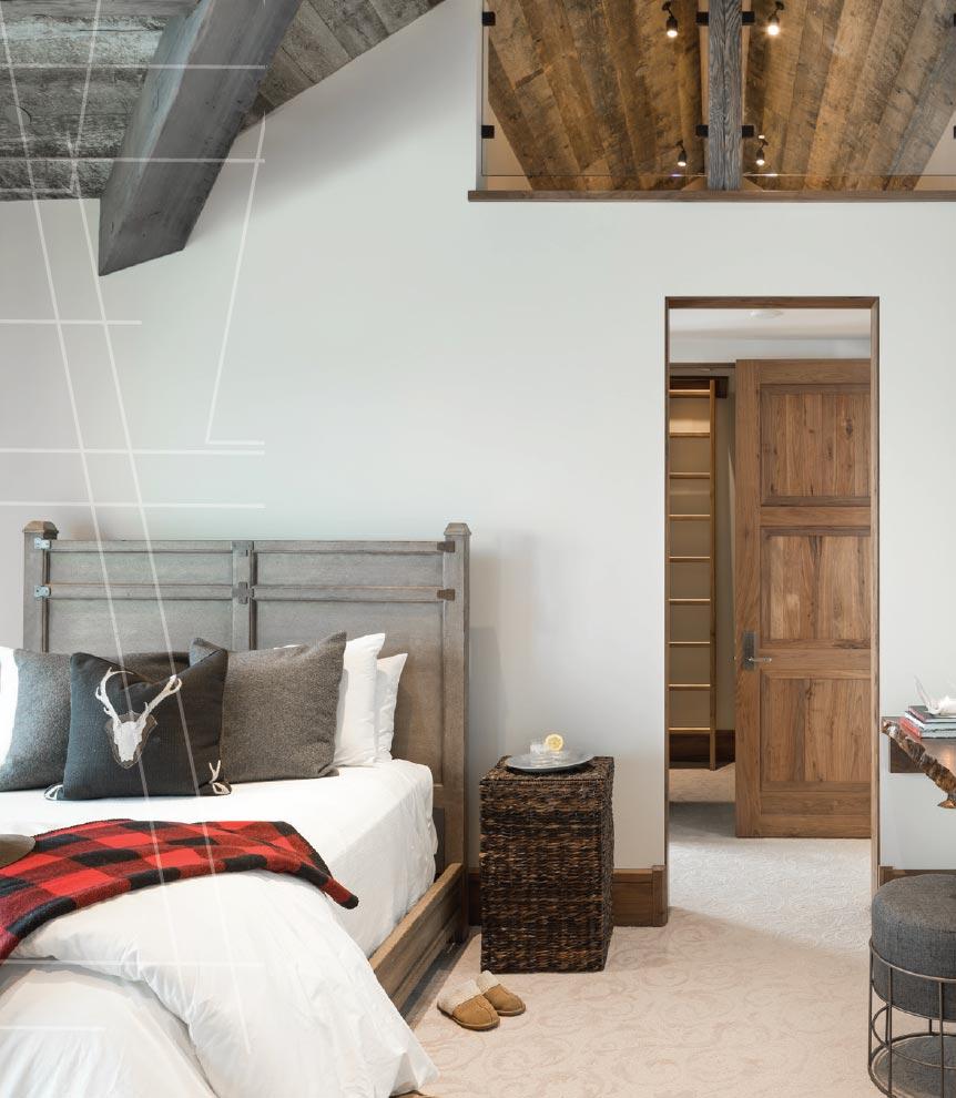 Virtual Reality and the Architect- Jackson Hole Bedroom
