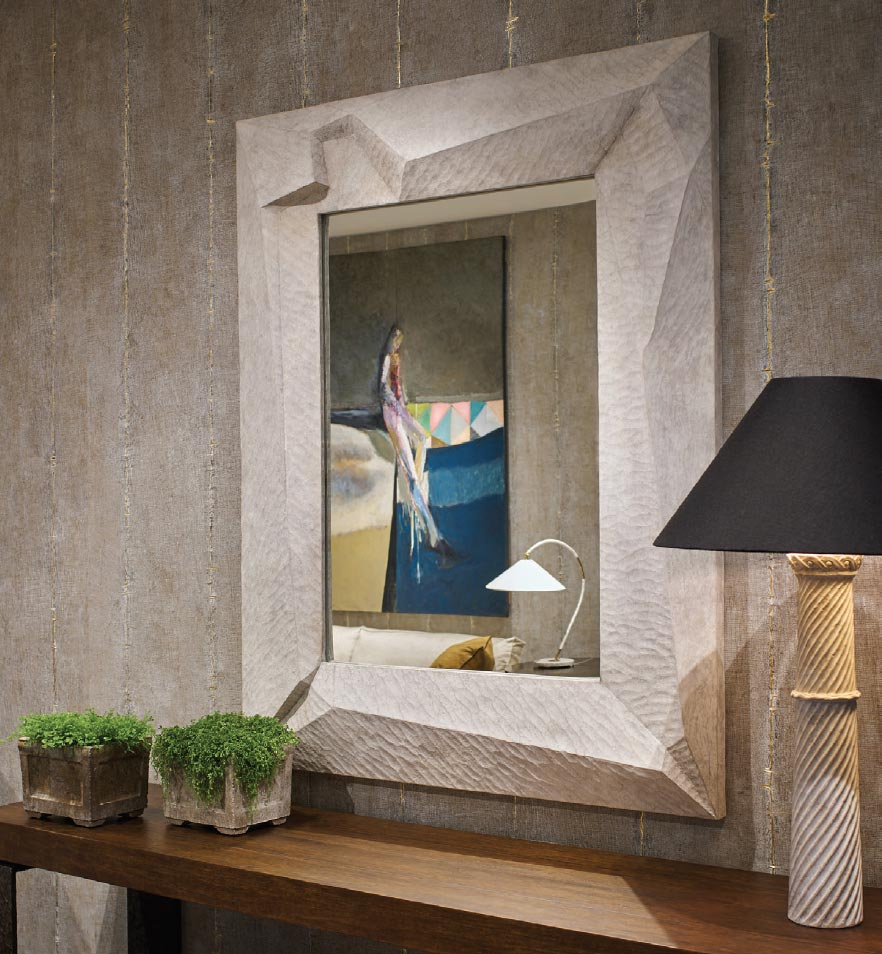FINDING JACKSON HOLE'S HOTTEST MIRRORS OF THE SEASON Cast Stone Mirror