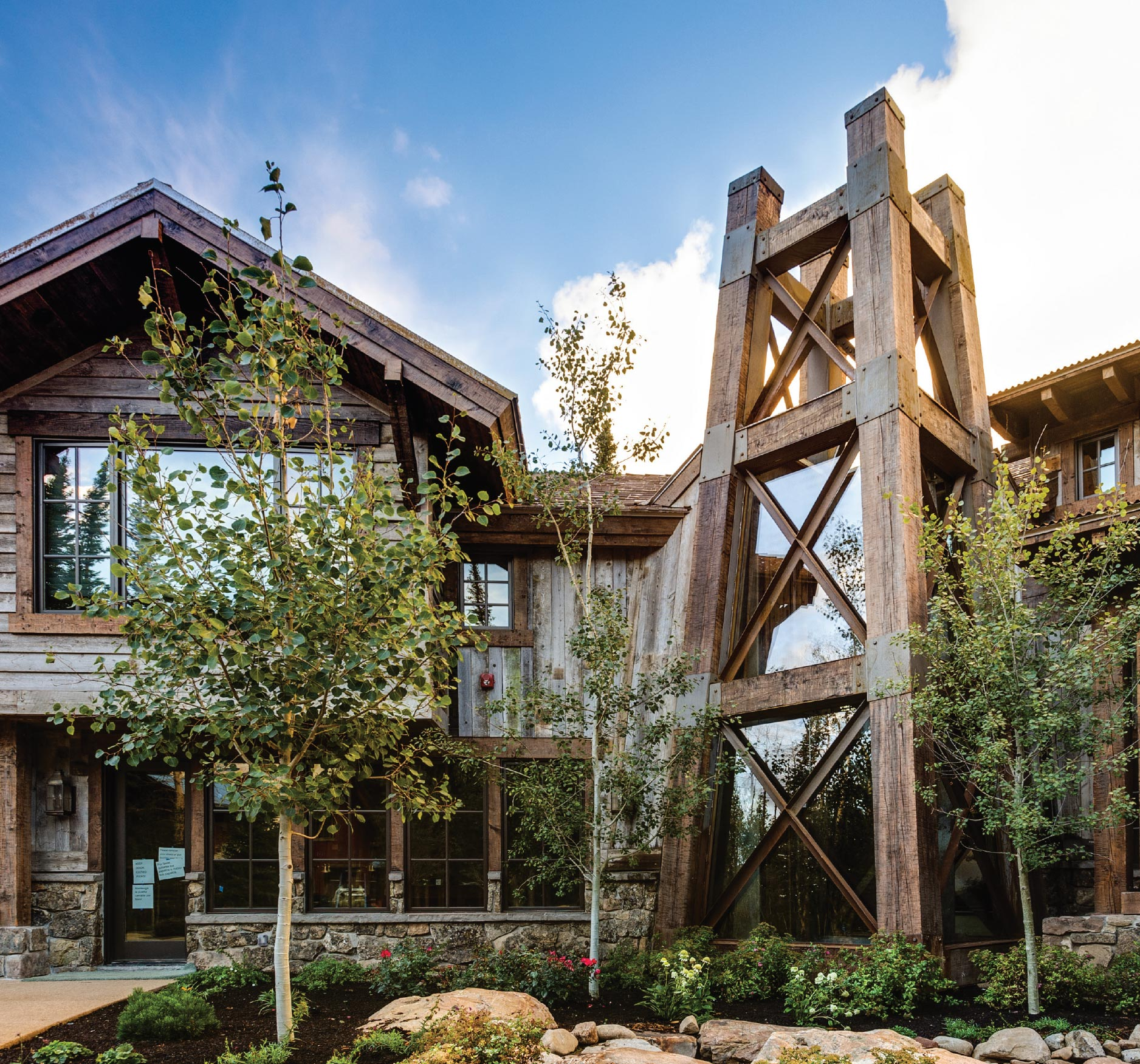 A+ ELEVATORS ON THE RISE- Jackson Hole Exterior