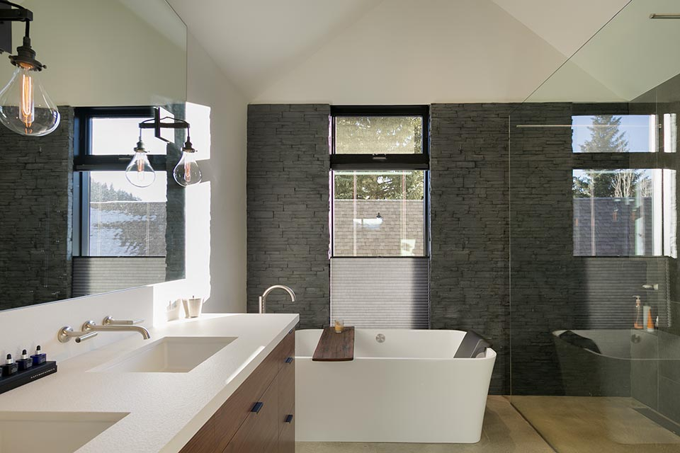 Relatively Speaking- Sun Valley Bathroom