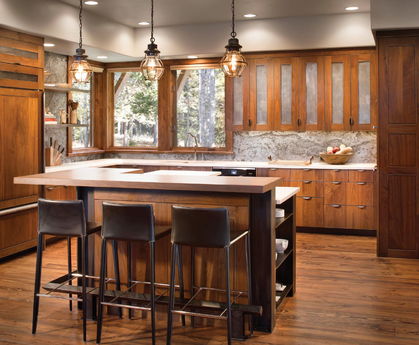From Art to Architecture- Bozeman-Big Sky Kitchen