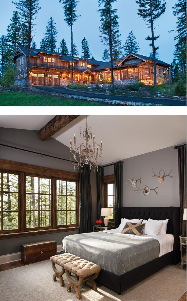 The Mark of Craftsmanship- Flathead Valley Log Home