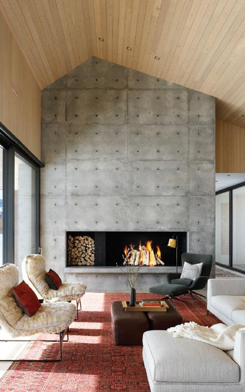 ARCHITECTS ROUND TABLE- Bozeman-Big Sky Living Room