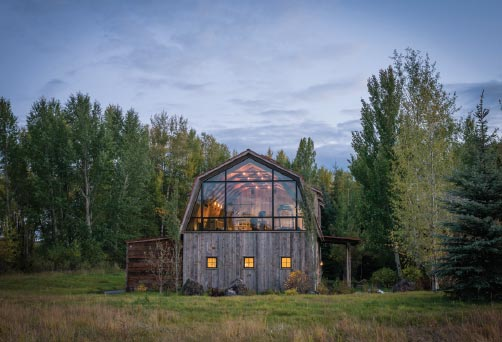 ARCHITECTS ROUND TABLE- Bozeman-Big Sky Barn