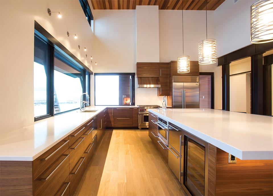 Feeding the Soul- Bozeman-Big Sky Futura Kitchen Cabinetry