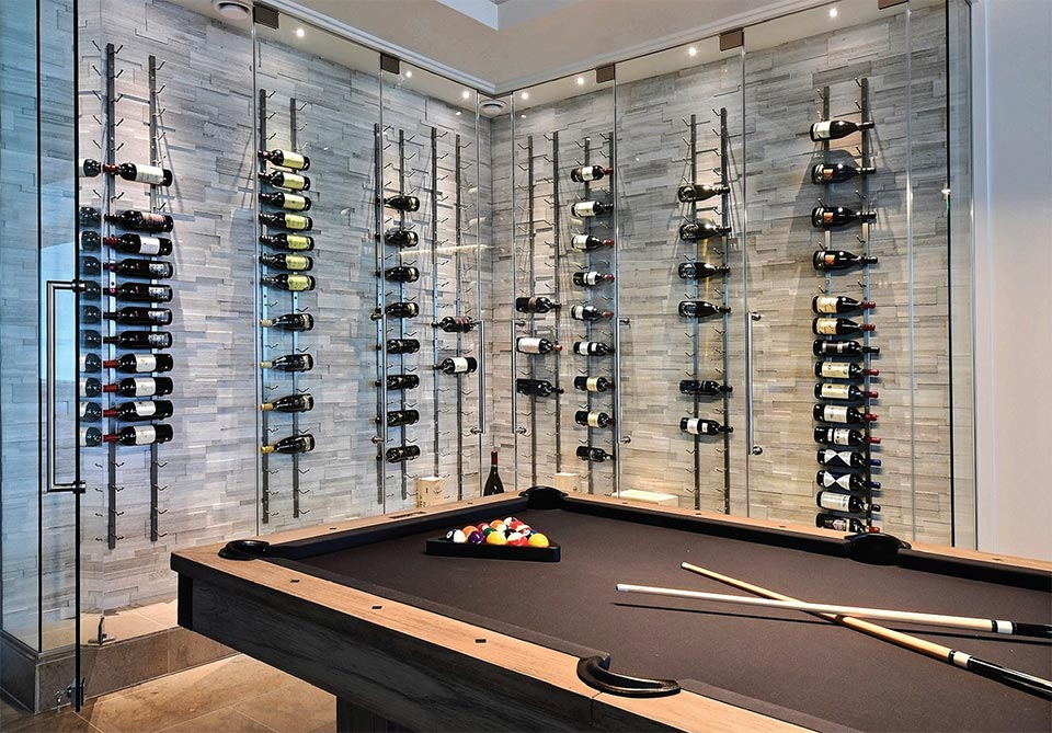 A Vision of Art and Functionality- Park City Wine Case