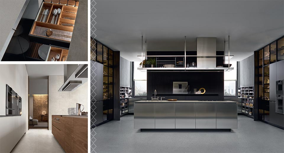 Piecing Together The Perfect Kitchen- Park City Poliform