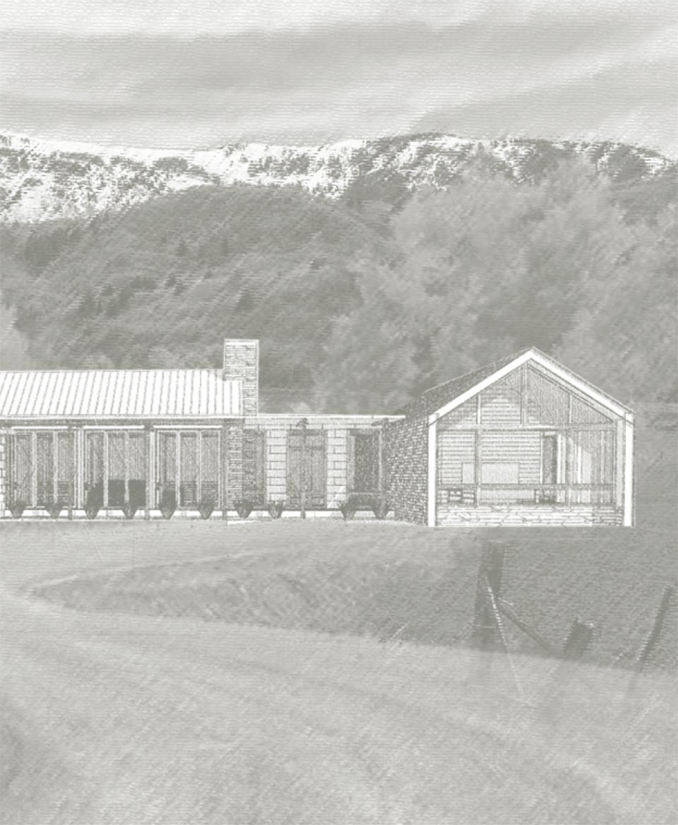 Benloch Ranch- Park City House Drawing