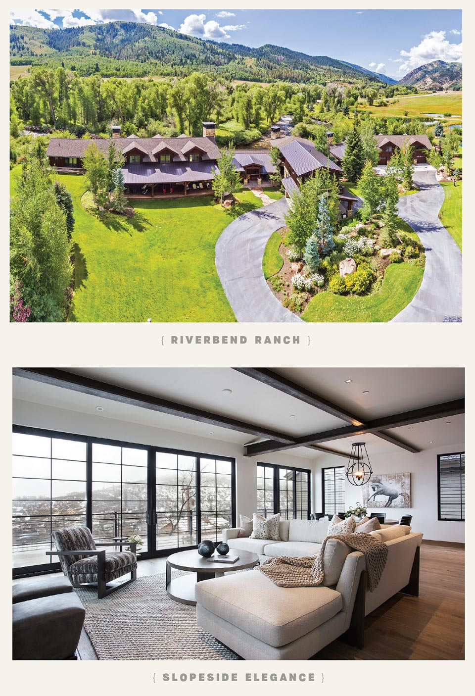 Luxury Listings in the Place We Call Home- Park City Riverbend Ranch and Slopeside Elegance