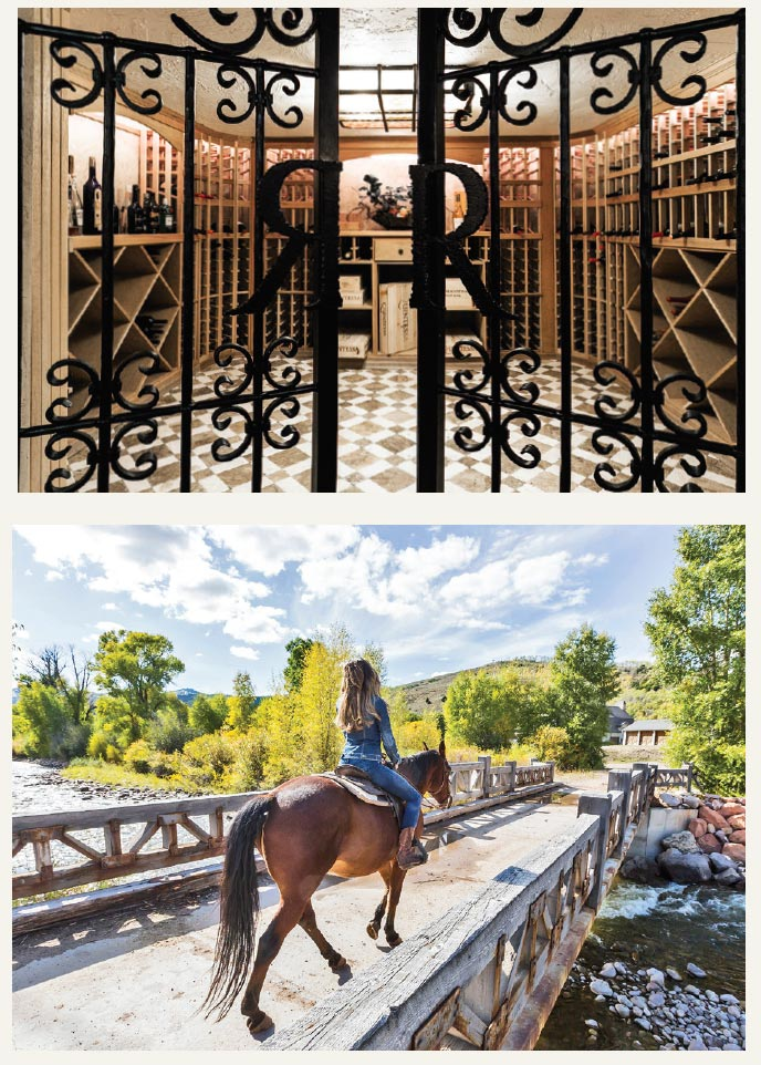 Luxury Listings in the Place We Call Home- Park City Entry and Horse
