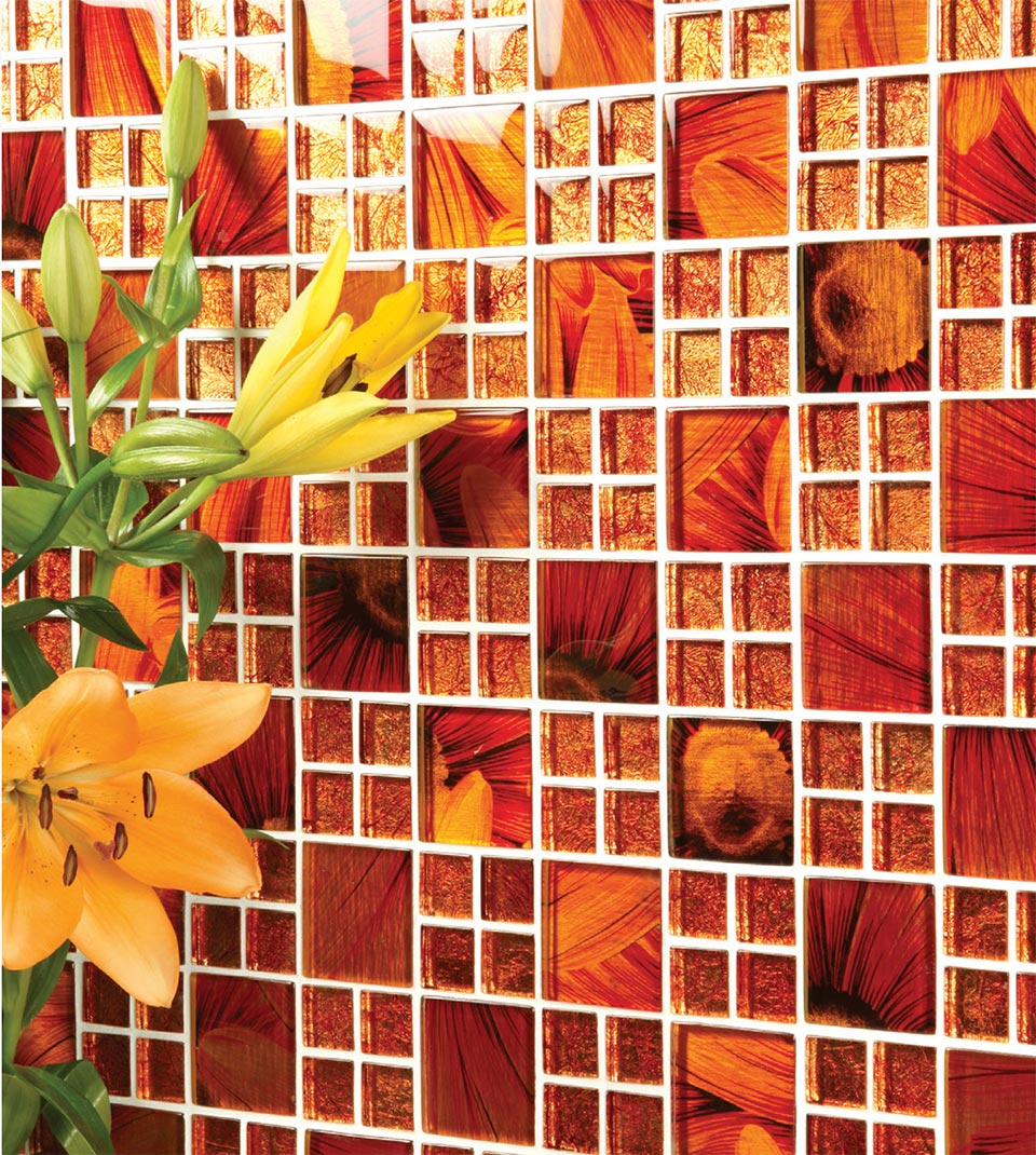 Inside Out Architecturals- Park City Glass Mosaic