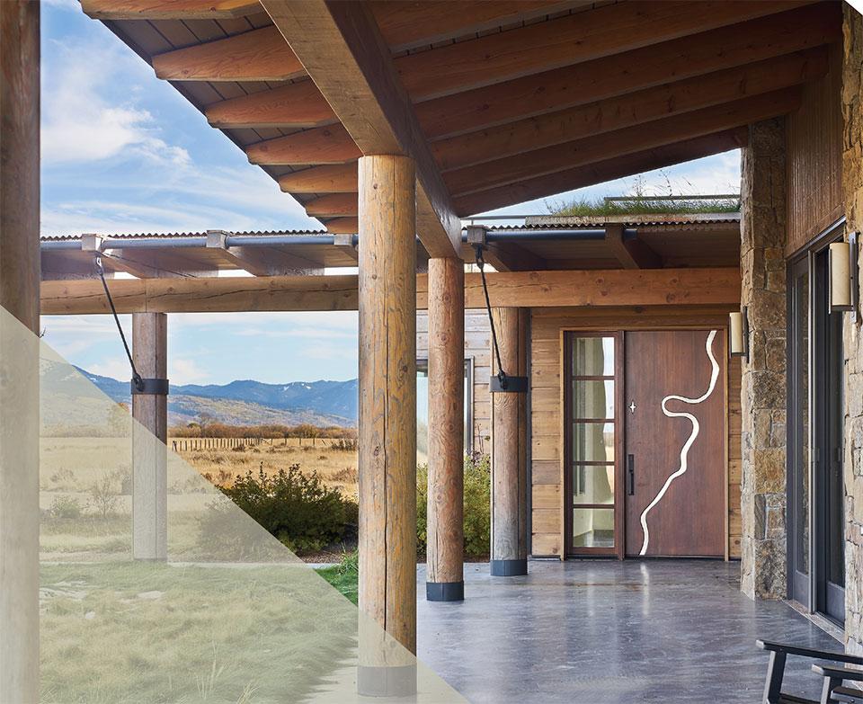 The Millennium Marks Rapid Advances in  Homebuilding Practices- Jackson Hole Dubbe Moulder Architects