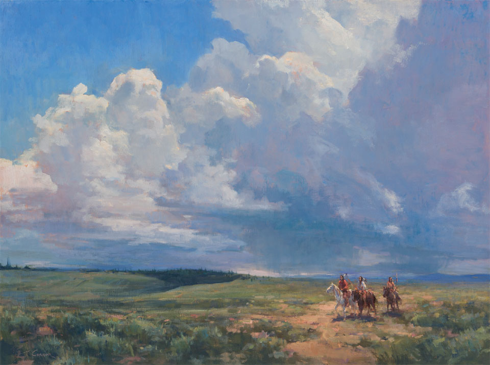Art in the Big Sky- Bozeman-Big Sky Rising Thunderhead