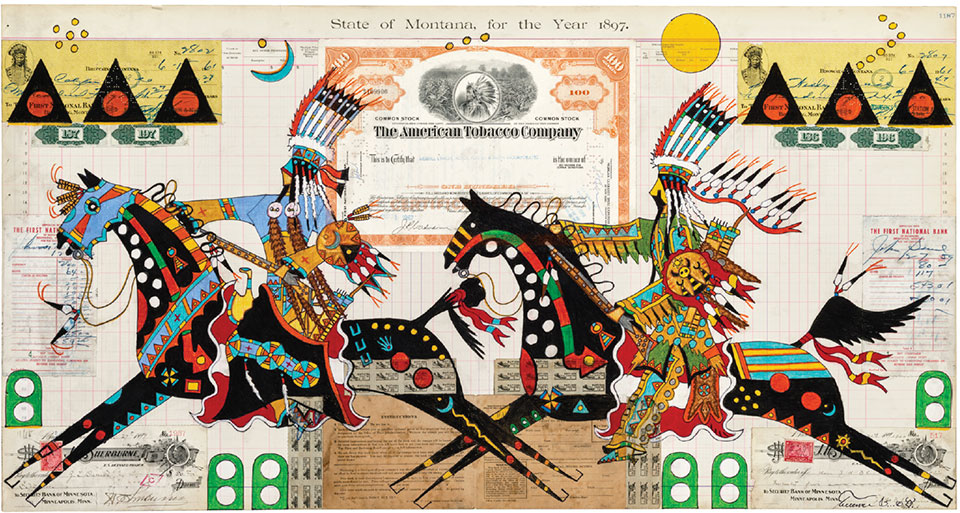 A Look At Fine Art- Sun Valley Terrance Guardipee Blackfeet Warrior Woman