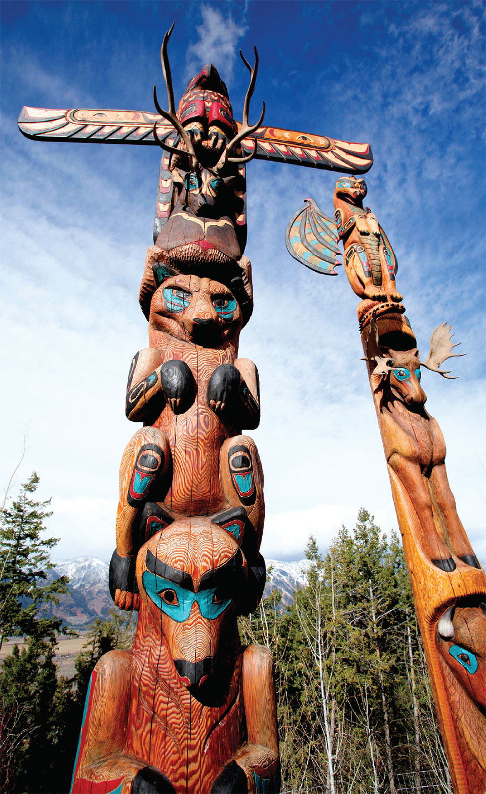 A Look At Fine Art- Sun Valley Totem Poles