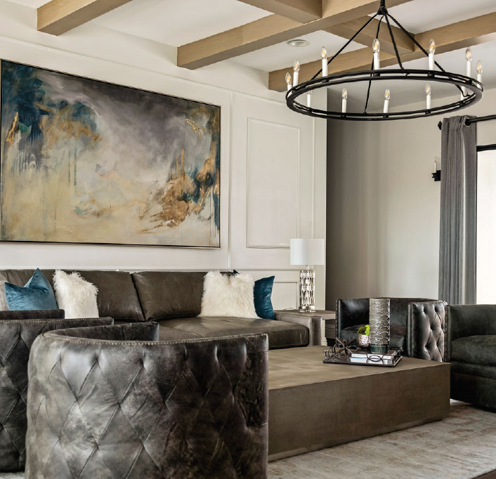 Interior Design Round Table- Bozeman-Big Sky Living Room 5