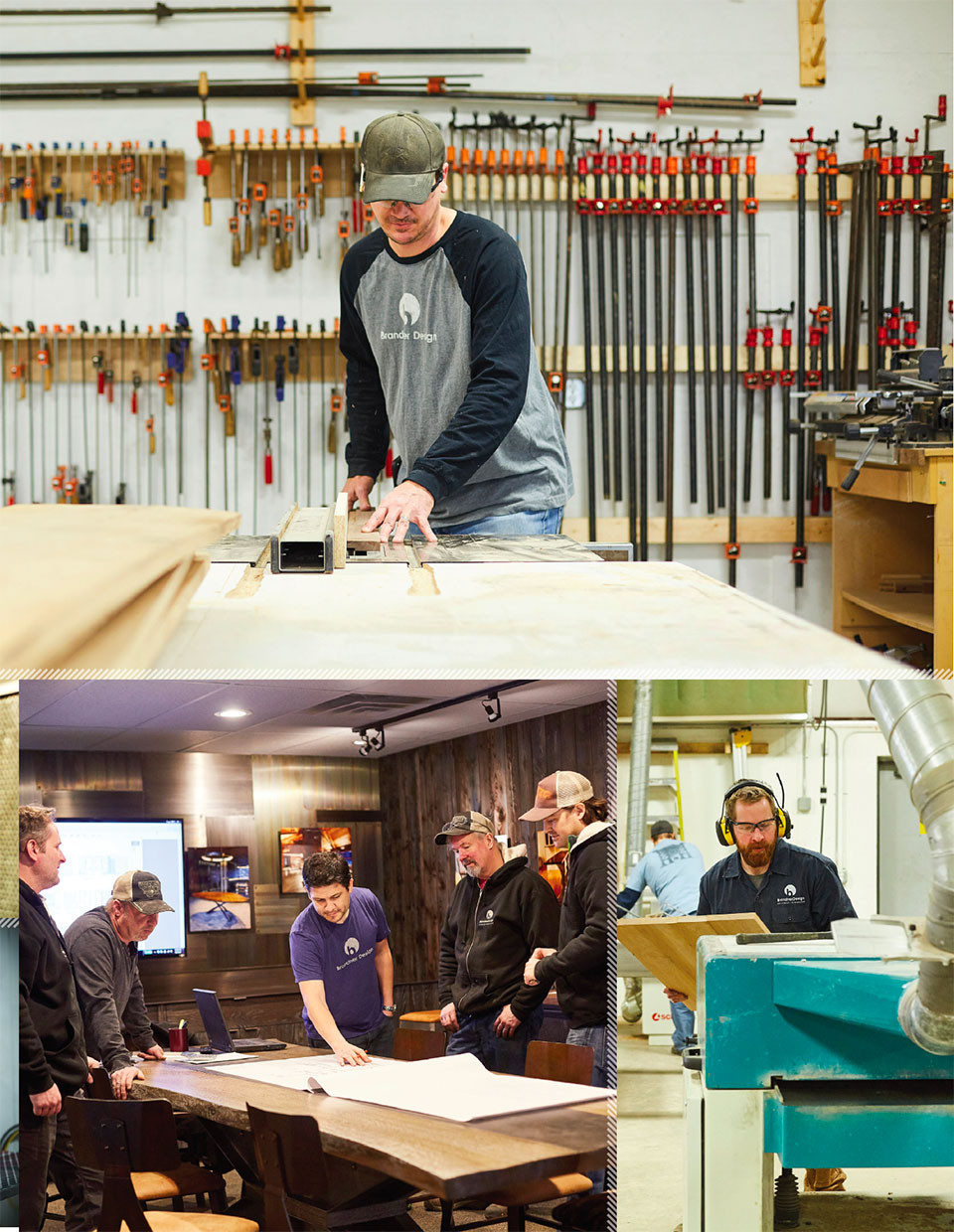 Working with Wood in the Modern West- Jackson Hole Brandner Team