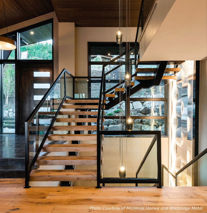 Steps to Success- Park City Stairs and Glass 3