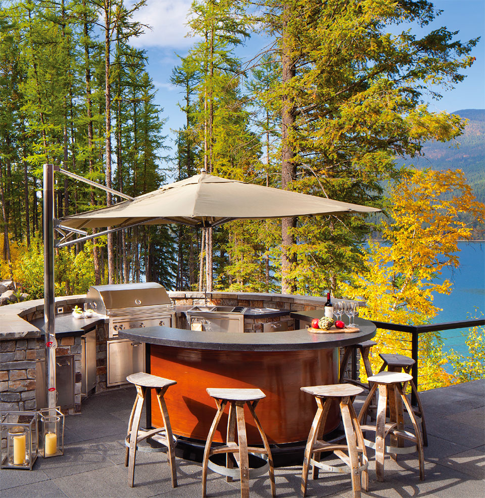 What are You Doing Outside?- Flathead Valley BBQ, Bar and View