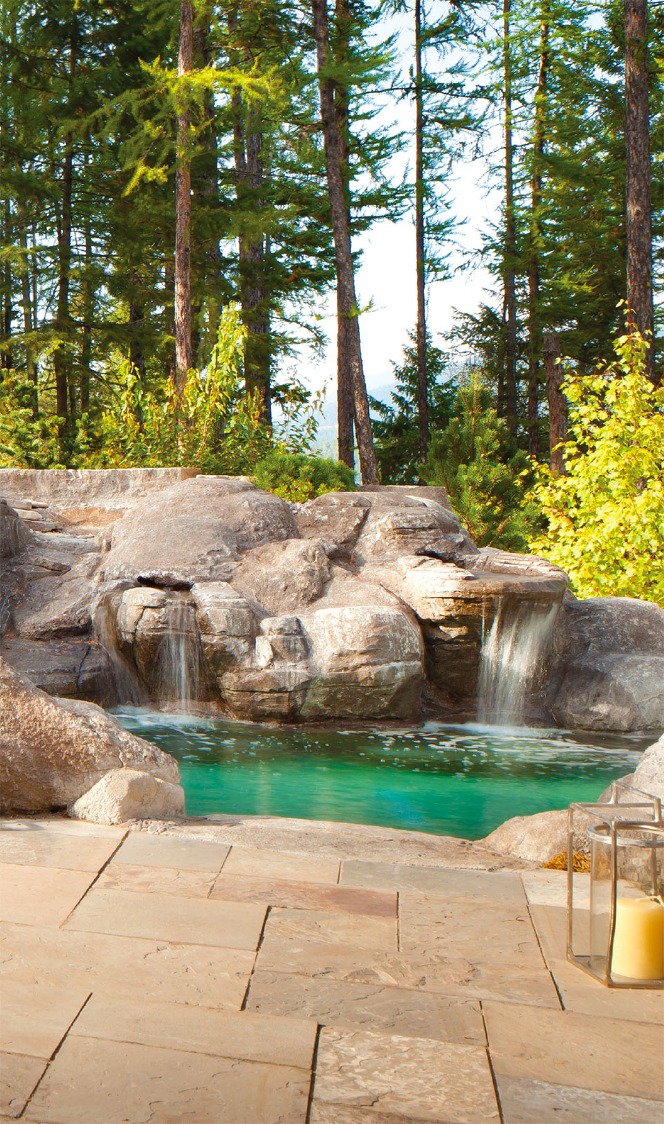 What are You Doing Outside?- Flathead Valley Pool Waterfall