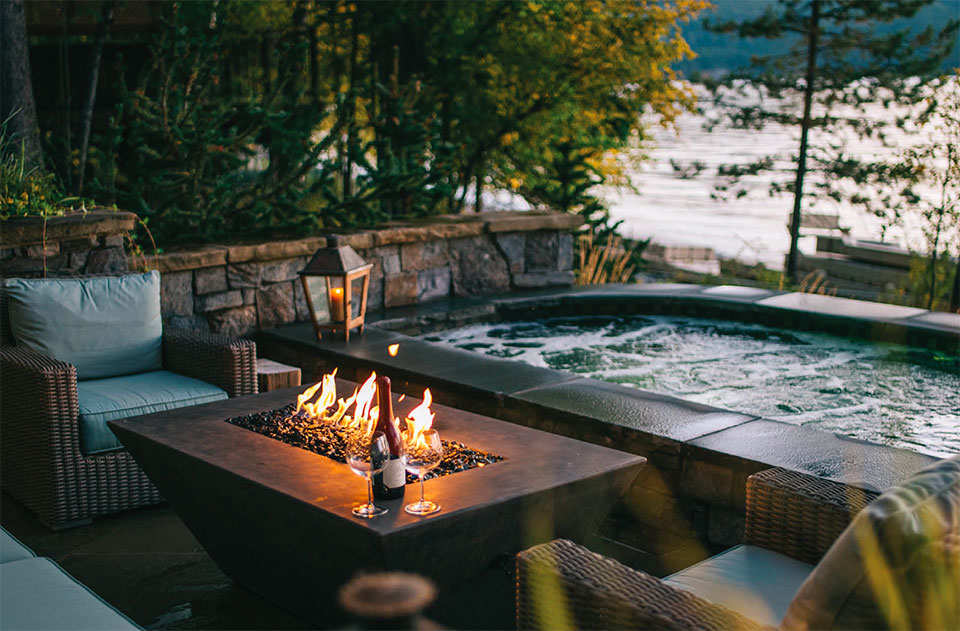 What are You Doing Outside?- Flathead Valley Fire, Spa and Lake