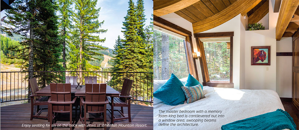 Snow Bear Chalets- Flathead Valley Bed and Deck