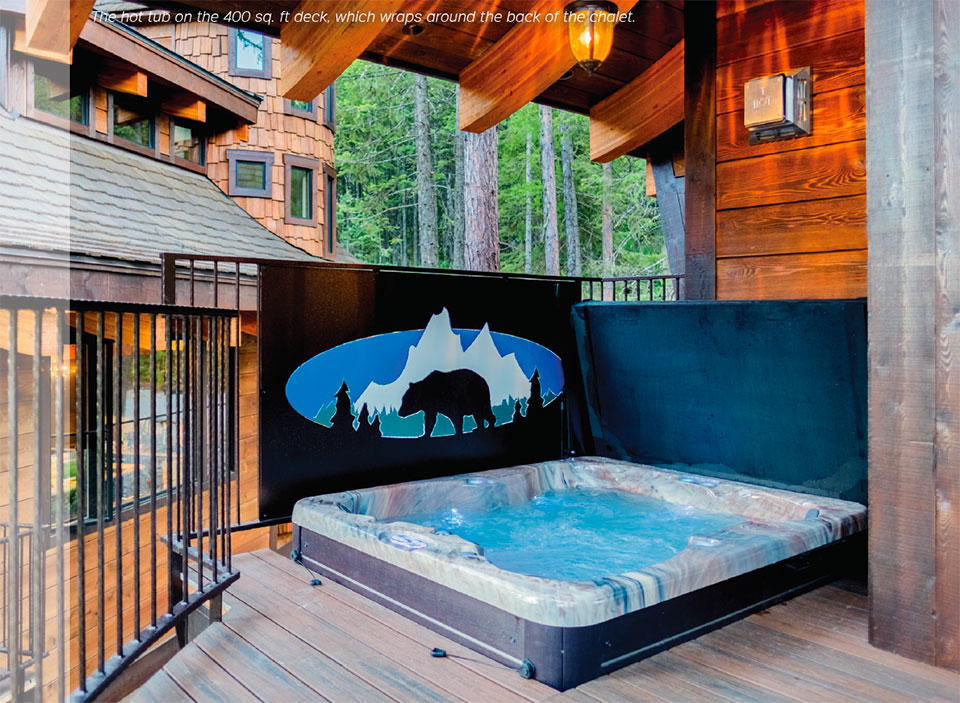 Snow Bear Chalets- Flathead Valley Hot Tub