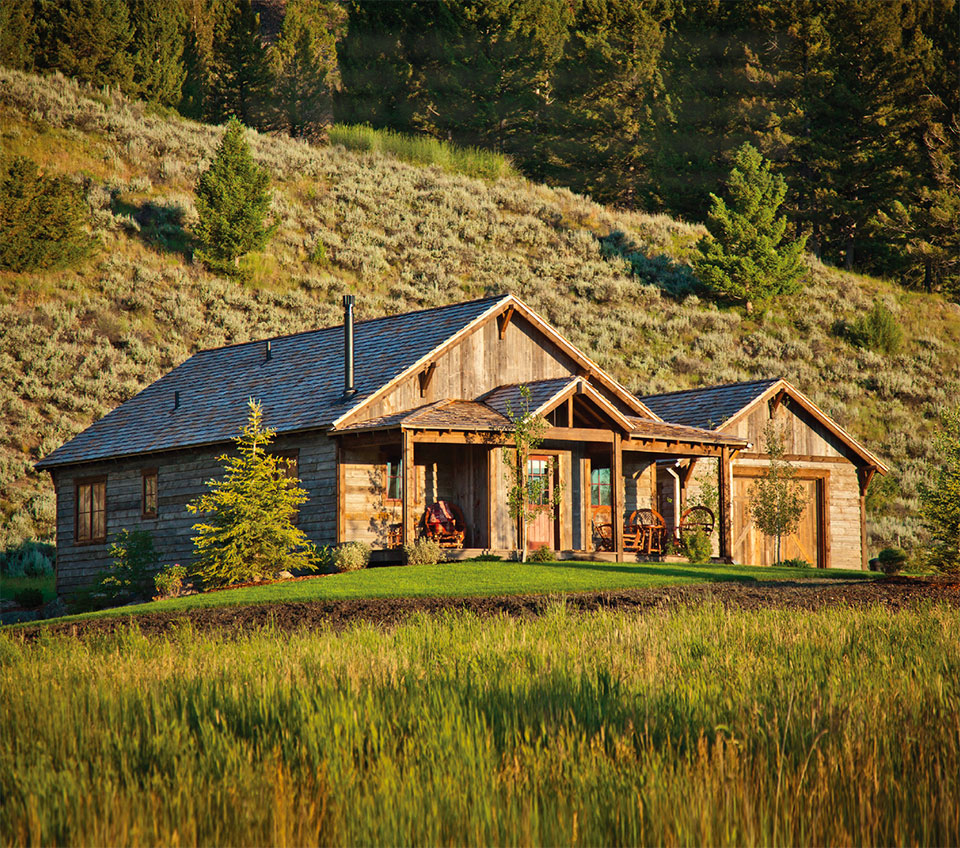 Working With Wood in the Modern West- Flathead Valley Cabin