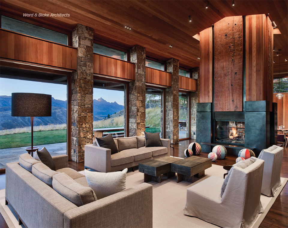 Delivering the Dream with Peak Builders Inc- Jackson Hole Living Room