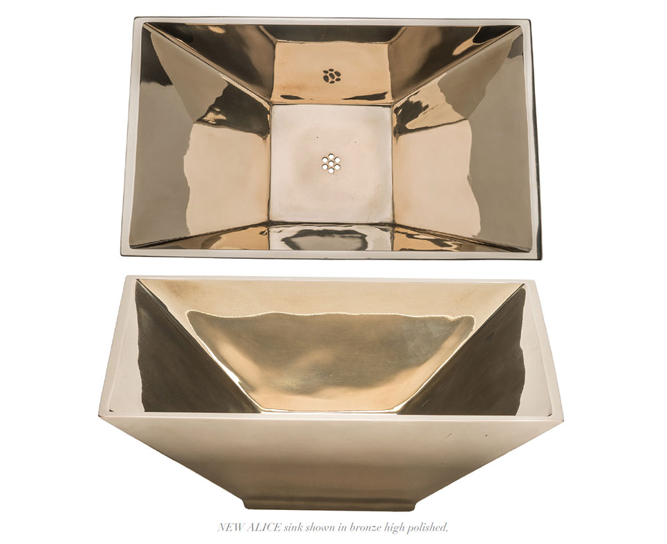 Higher Love with High Polish- Sun Valley Bronze Sink