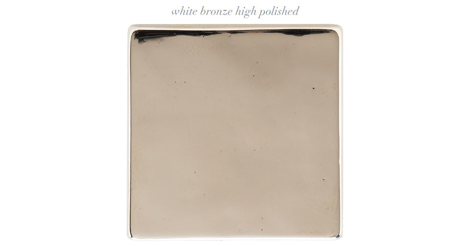 Higher Love with High Polish- Sun Valley White Bronze