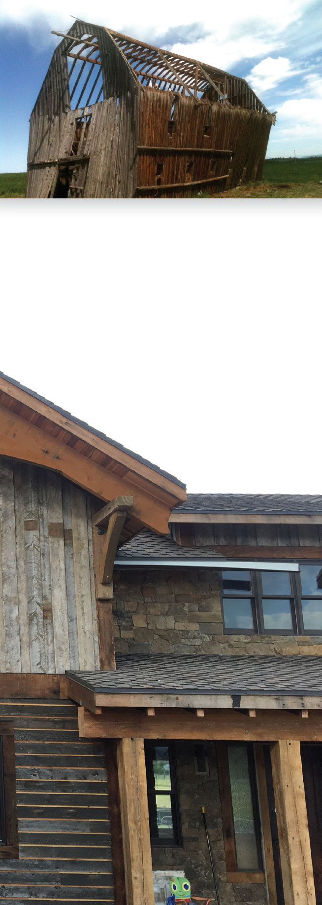 Working with Wood in the Modern West- Jackson Hole Reclaimed Barn