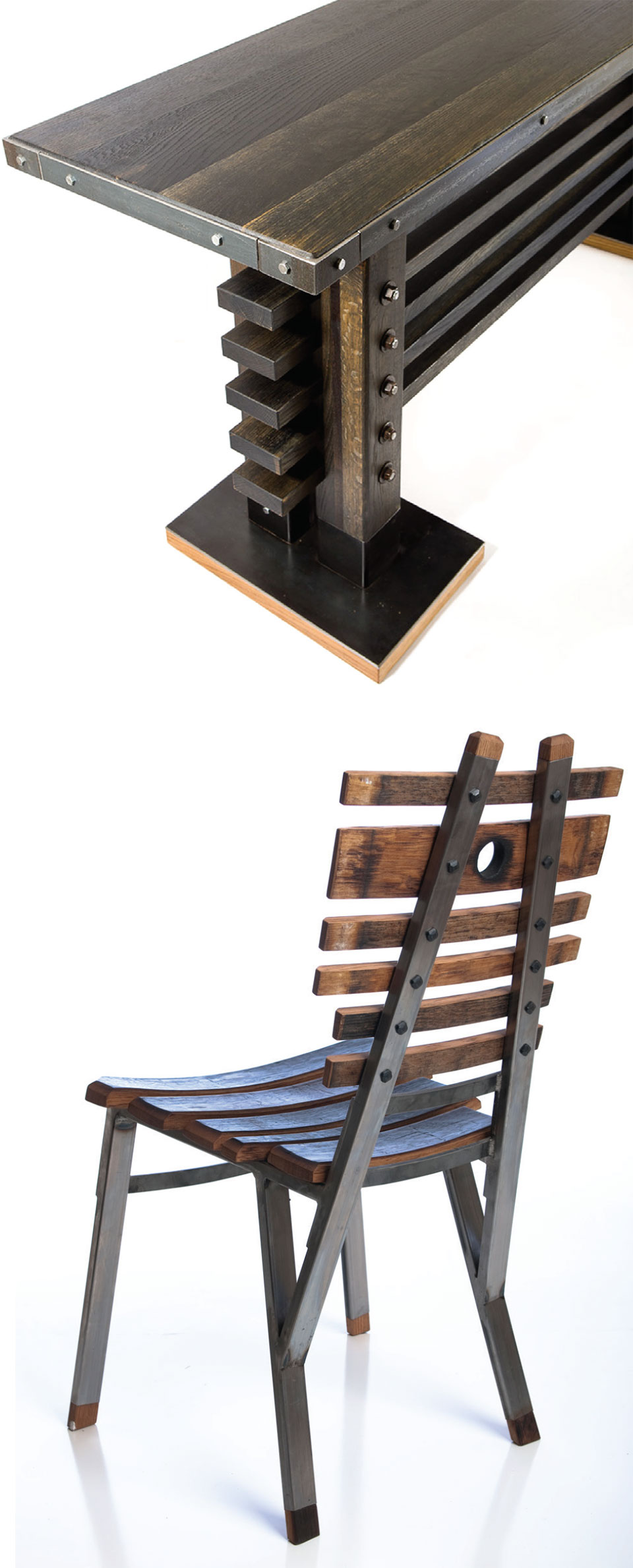 Working with Wood in the Modern West- Sun Valley Table and Chair