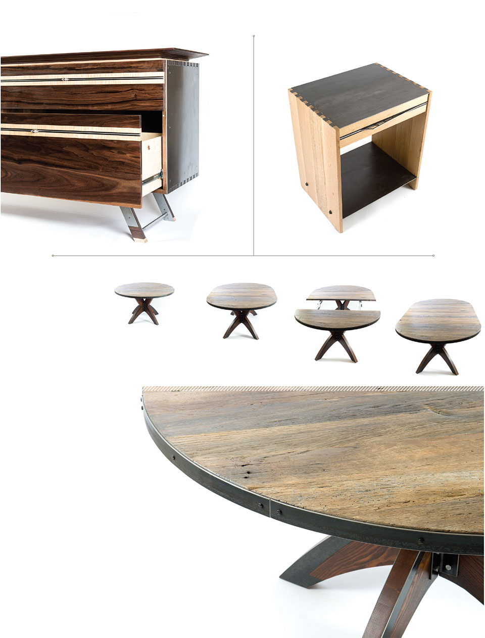 Working with Wood in the Modern West- Sun Valley Dresser and Table