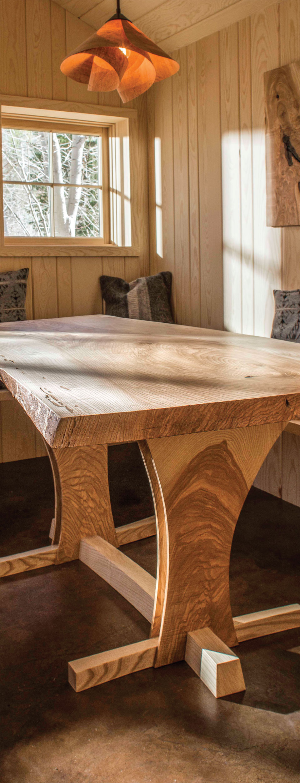 Working with Wood in the Modern West- Sun Valley Wood Table