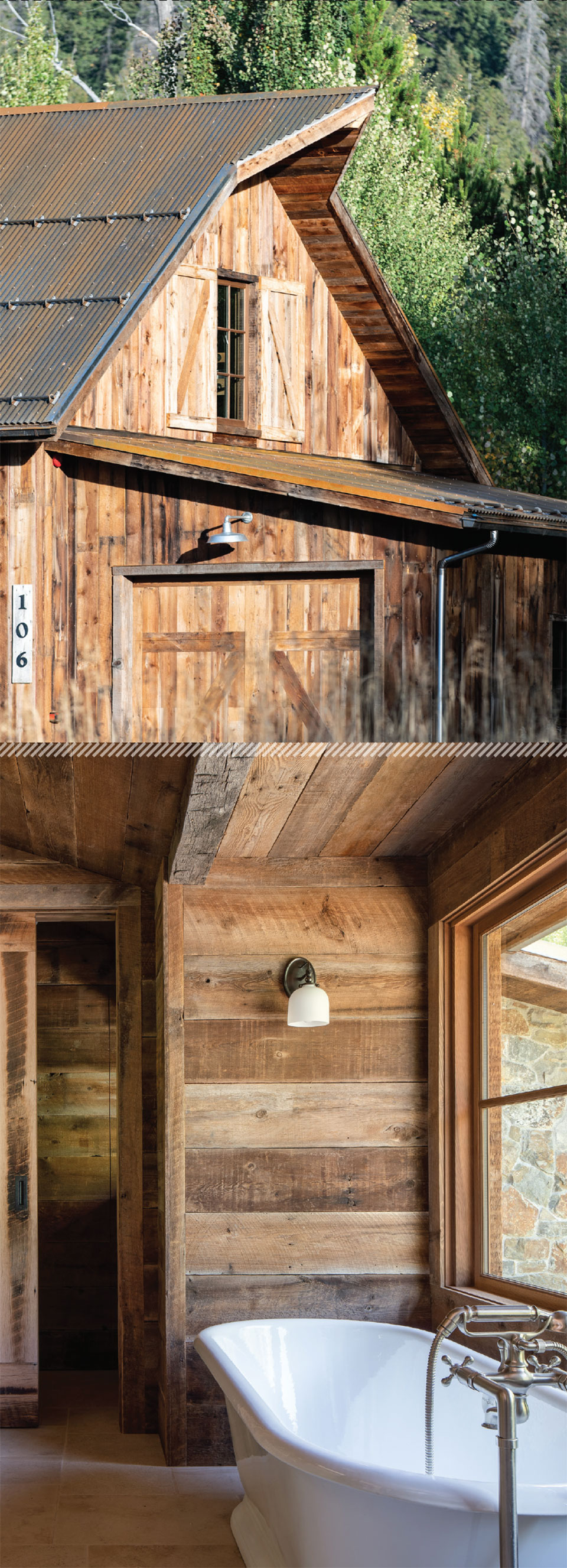 Working with Wood in the Modern West- Sun Valley Barn