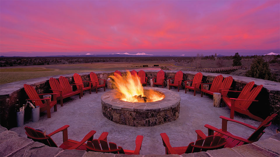 Living Your Dream- Bend Fire Pit